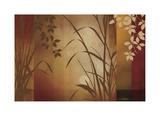 Flaxen Silhouette Giclee Print by Edward Aparicio