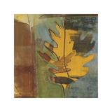 Dancing Leaf Giclee Print by Leslie Bernsen