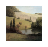 Inspired Hillsides I Giclee Print by  Udell