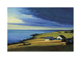 Passing Storm, Prince Edward Island Giclee Print by Sandy Wadlington