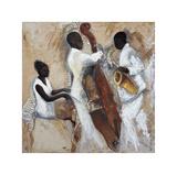 Night of Blues Giclée-Druck von Tat Vila
