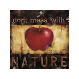 Don't Mess with Nature Giclée-Druck von Wani Pasion
