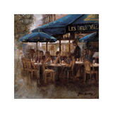 Les Deux Magots Giclee Print by Noemi Martin