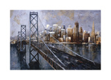 The Bay Bridge Giclee Print by Marti Bofarull