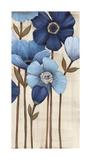 Fleurs Bleues II Giclee Print by  Maja