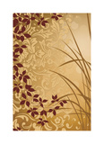 Golden Flourish II Giclee Print by Edward Aparicio