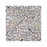 River Pebbles Giclee Print by Isabel Lawrence