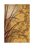 Golden Flourish I Giclee Print by Edward Aparicio