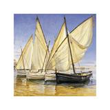 White Sails II Giclee Print by Jaume Laporta