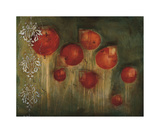 Rose Garden Giclee Print by Jenn Flynn
