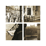 Paris a la Seine Giclee Print by Marina Drasnin Gilboa