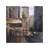 On Park Avenue Giclee Print by Marti Bofarull