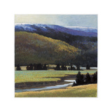 Foothills in Late Spring Giclee Print by Sandy Wadlington