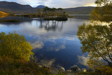 Evening Sunlight, Loch Assynt, National Nature Reserve, Sutherland, Highlands, Scotland, UK Photographic Print by Peter Richardson