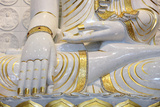 Buddha Sitting in Bhumisparsha-Mudra Posture, Fo Guang Shan Temple, Bussy-Saint-Georges, France Photographic Print by  Godong