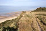 Cliff Path from Cromer to Overstran, Norfolk, England, United Kingdom, Europe Photographic Print by Mark Sunderland