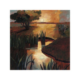 End of the Day Giclee Print by Valerie Willson