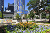 Market Square Park, Houston, Texas, United States of America, North America Photographic Print by Richard Cummins