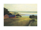 Salt Water Farm Giclee Print by Sandy Wadlington