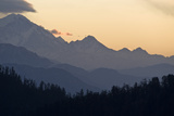 View from Poon Hilll at Dawn, Ghorepani, Annapurna Himal, Nepal, Himalayas, Asia Photographic Print by Ben Pipe