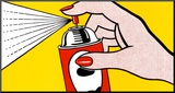 Spray, 1962 Mounted Print by Roy Lichtenstein