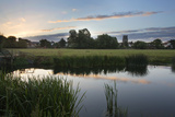 Sudbury Water Meadows at Dawn, Sudbury, Suffolk, England, United Kingdom, Europe Photographic Print by Mark Sunderland