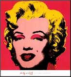 Marilyn Monroe, 1967 (hot pink) Opspændt tryk af Andy Warhol