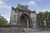 An Archway at Tu Duc Royal Tomb, Hue, UNESCO World Heritage Site, Vietnam, Indochina Photographic Print by Charlie Harding