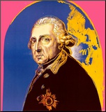 Friedrich der Grosse Mounted Print by Warhol Andy