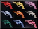 Gun, c.1982 Mounted Print by Andy Warhol