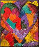 Monotypes, 1983 Mounted Print by Jim Dine