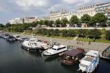 Paris Bastille Harbour, Paris, France, Europe Photographic Print by  Godong