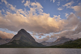 Mount Grinnell and Swiftcurrent Lake at Dawn, Glacier National Park, Montana, USA Photographic Print by James Hager