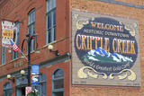 Downtown Mural, Cripple Creek, Colorado, United States of America, North America Photographic Print by Richard Cummins