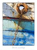 Dernier mouillage Plakat af Philip Plisson