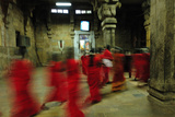Women Passing Through in Sri Rangam Temple, Tamil Nadu, India, Asia Photographic Print by Bhaskar Krishnamurthy