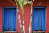 Detail of a Colonial House at the Historical Centre (Cidade Alta) of Porto Seguro, Bahia, Brazil Photographic Print by Yadid Levy