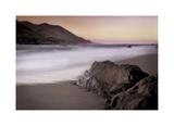 Garrapata Beach Giclée-tryk af John Rehner