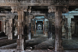 Inside the Darasuram Temple, UNESCO World Heritage Site, Darasuram, Tamil Nadu, India, Asia Photographic Print by Bhaskar Krishnamurthy