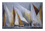 Ocean Regatta Giclee Print by Mar&#237;a Antonia Torres