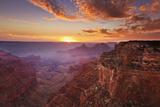 Cape Royal Viewpoint at Sunset, North Rim, Grand Canyon Nat'l Park, UNESCO Site, Arizona, USA Reprodukcja zdjęcia autor Neale Clark