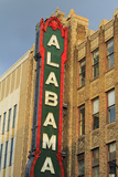 Alabama Theatre on 3rd Street, Birmingham, Alabama, United States of America, North America Photographic Print by Richard Cummins