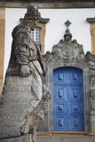 The Prophets Sculpture at Sanctuary of Bom Jesus de Matosinhos, UNESCO Site, Congonhas, Brazil Photographic Print by Ian Trower