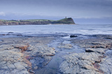 Kimmeridge Bay on the Dorset Coast at Sunset, Jurassic Coast, UNESCO Site, Dorset, England, UK Reproduction photographique par Julian Elliott