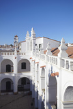 Courtyard of Convento de San Felipe Neri, Sucre, UNESCO World Heritage Site, Bolivia, South America Photographic Print by Ian Trower