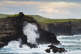View of Punta Suarez, Espanola Island, Galapagos Islands, UNESCO World Heritage Site, Ecuador Photographic Print by Michael Nolan