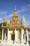 Shrine at Silver Pagoda in Royal Palace, Phnom Penh, Cambodia, Indochina, Southeast Asia, Asia Photographic Print by Ian Trower