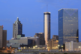 City Skyline at Dusk, Atlanta, Georgia, United States of America, North America Photographic Print by Richard Cummins