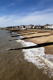 Felixstowe Beach from the Pier, Felixstowe, Suffolk, England, United Kingdom, Europe Photographic Print by Mark Sunderland