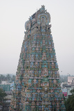 Tower of Kumbakonam Temple, Kumbakonam, Tamil Nadu, India, Asia Photographic Print by Bhaskar Krishnamurthy